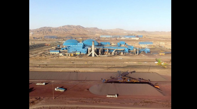 ثبت بالاترین رکوردهای تولید ماهانه گندله و حمل ریلی در فولاد سنگان