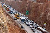 آخرین وضعیت جوی و ترافیکی جاده ها در 1 فروردین 98