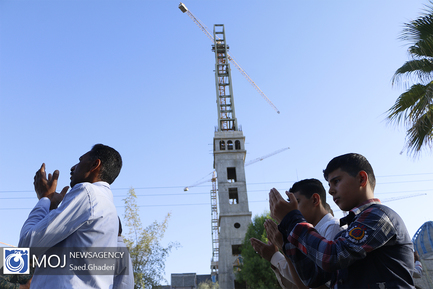 اقامه نماز عید سعید فطر در بندرعباس