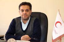 مانور مشترک جمعیت هلال احمر  استان همدان با مشارکت استا ن های همجوار