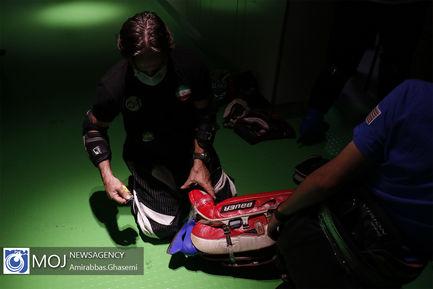 دور اول مسابقات انتخابی تیم ملی هاکی روی یخ آقایان