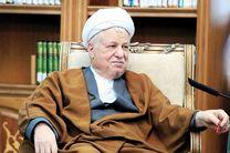 آیت الله هاشمی رفسنجانی درگذشت مادر مهندس احمد خرّم را تسلیت گفت
