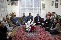 دیدار استاندار گیلان با خانواده شهید آیت ا... احسانبخش