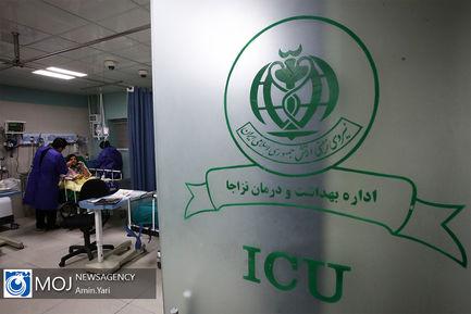 ارتش سفیدپوش بیمارستان هاجر در وضعیت قرمز کرونا