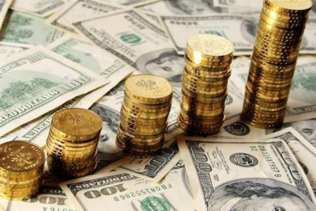 افزایش ۵ دلاری قیمت طلا در بازارهای جهانی
