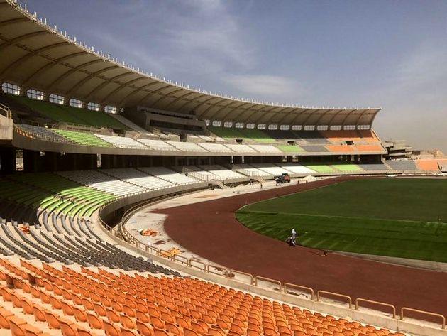 چهارمین ورزشگاه بزرگ کشور در شیراز افتتاح شد