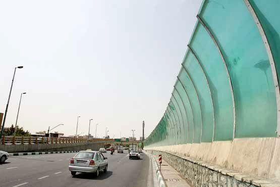 دستگیری سارقان دیوار صوتی بزرگراه آزادگان
