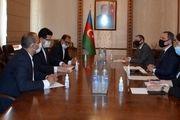 تقدیم رونوشت استوارنامه موسوی به وزیر خارجه آذربایجان