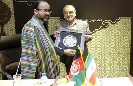دیدار وزیر ارشاد، حج و اوقاف افغانستان با استاندار قم