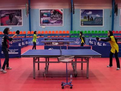 طلای باکو برای تیم ملی پینگ پنگ بانوان ایران