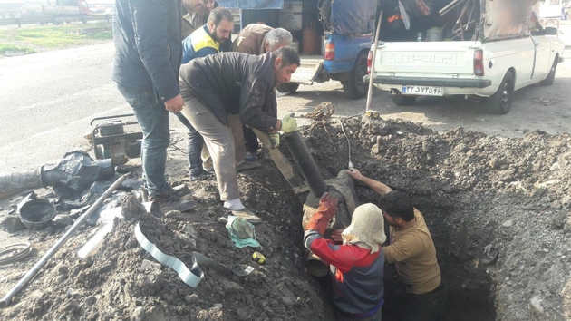 شبکه روستای قلعه کل از توابع شهرستان رودبار گازدار شد