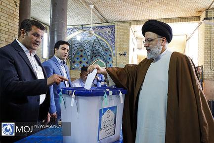 حضور رییس قوه قضاییه در انتخابات یازدهمین دوره مجلس شورای اسلامی