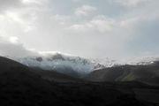 بارش برف ارتفاعات کندلوس و نیچکوه را سفیدپوش کرد