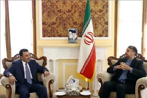 دیدار سفیر جدید قطر با امیرعبداللهیان در تهران
