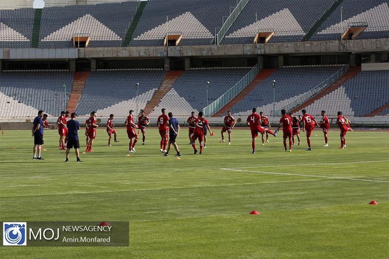 جزئیات برنامه تمرین امروز تیم ملی فوتبال ایران