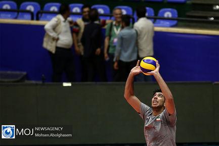 تمرین تیم ملی والیبال - ۲۳ خرداد ۱۳۹۸