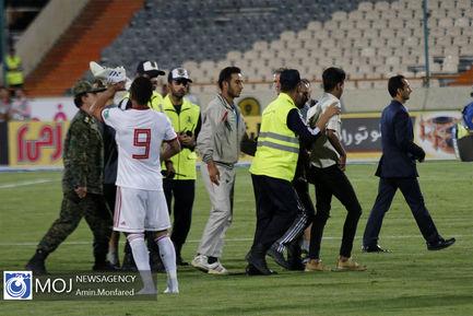 دیدار دوستانه تیم های ملی فوتبال ایران و سوریه