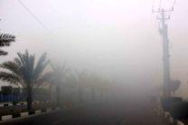 مه گرفتگی در بندرعباس و قشم شعاع دید را به 50 متر کاهش داد
