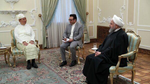 ظرفیتهای بسیار خوبی برای توسعه روابط بین ایران و میانمار وجود دارد