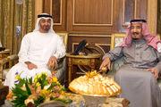 رایزنی پادشاه عربستان و ولیعهد ابوظبی در مورد یمن