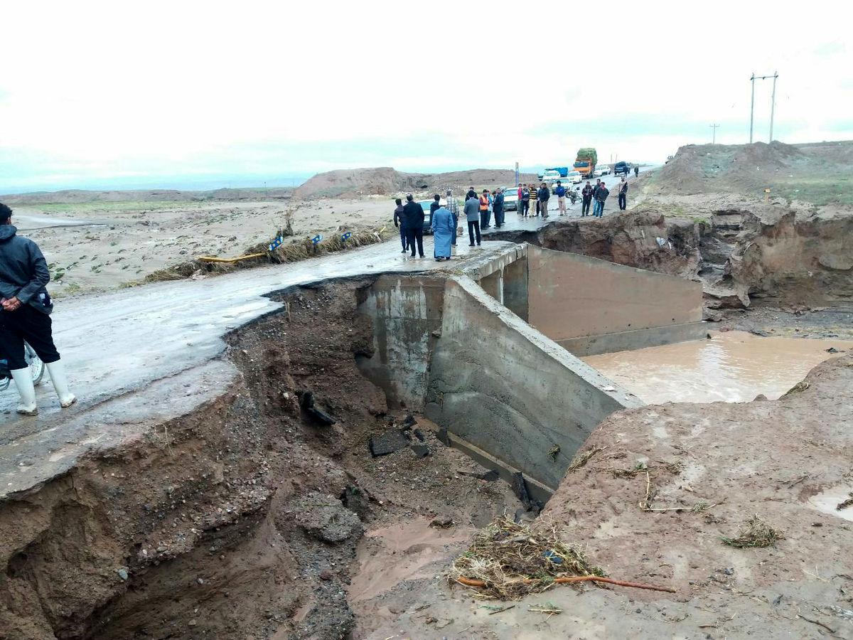 خسارت پنج میلیارد ریالی سیل به راه های شهرستان سبزوار