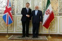 وزیر امور خارجه انگلیس با ظریف دیدار کرد