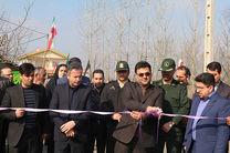 بهره برداری از دو پروژه آسفالت و افتتاح یک کارگاه و نمایشگاه سفالگری در شهرستان شفت