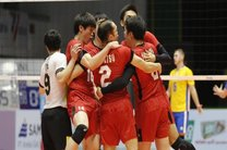 ژاپن قهرمان والیبال آسیا شد