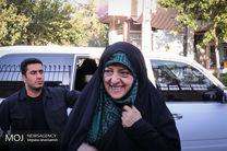 دیدار معصومه ابتکار با امدادگران زن در لرستان