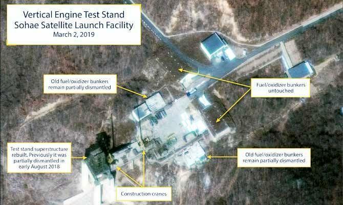 فعالیت یک سایت موشکی در کره شمالی از سرگرفته شد