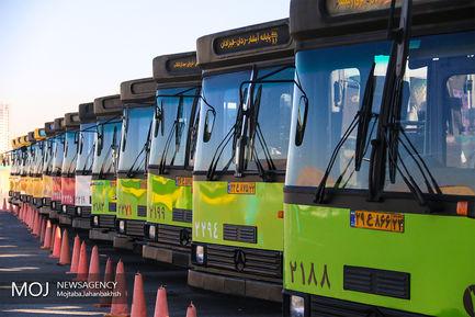 بهره برداری از پروژه های شرکت اتوبوسرانی اصفهان