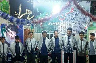 محفل قرآنی «گلشن وحی» در کردکوی برگزار شد