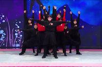 اجرای دختران نینجا در نیمه نهایی برنامه عصر جدید