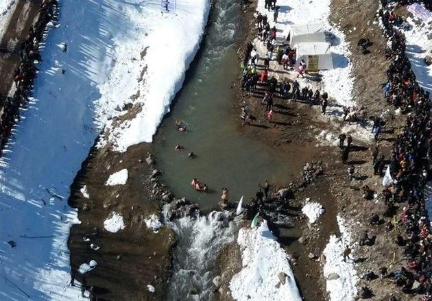 مسابقات مردان یخی ایران در مشگین شهر برگزار شد