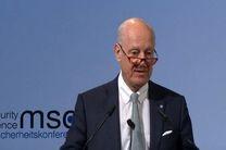 دیمیستورا: نتایج نشست را به زودی به شورای امنیت اعلام میکنم