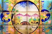 انیمیشن داستان کاراکترهای روی یک کاشی