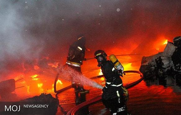 ۲۰ شهروند از حریق نجات یافتند / سونای خشک عامل آتش سوزی