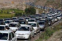 جو آرام و ترافیک روان در جاده های کشور