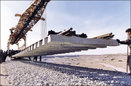 عملیات ریل گذاری و اجرای روسازی راه آهن میانه-بستان آباد آغاز شد