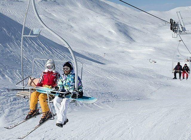 دیزین مهمترین پیست اسکی ایران و منطقه خاورمیانه است که در شهرستان کرج در استان البرز واقع شدهاست.