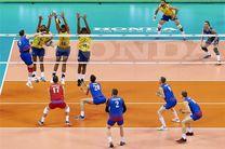 تصاویر قهرمانی صربستان در لیگ جهانی والیبال