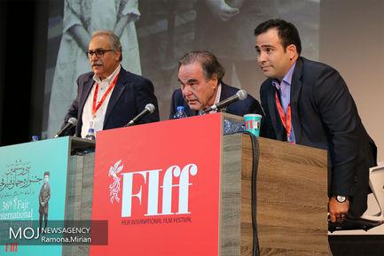 نشست خبری الیور استون در جشنواره جهانی فیلم فجر
