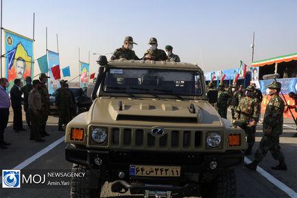 مراسم رونمایی از ادوات و تجهیزات بازتولید دفاعی
