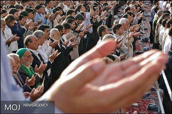 برگزاری نماز عید فطر به امامت آیت الله میرعمادی در مصلای خرم آباد