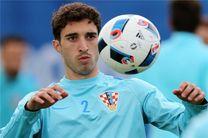 اتلتیکومادرید مقصد بعدی مدافع تیم ملی کرواسی است