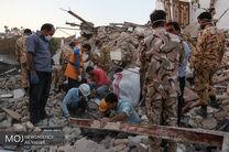 نیروهای امدادی سپاه شبانه به زلزلهزدگان امداد رسانی کردند