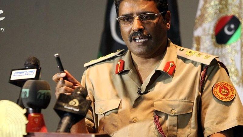 سخنگوی ارتش لیبی مدعی دخالت مخفیانه ایران در لیبی شد