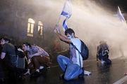 تظاهرات مقابل اقامتگاه بنیامین نتانیاهو در قدس اشغالی