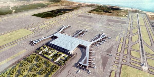 بزرگ ترین فرودگاه جهان در استانبول افتتاح می شود