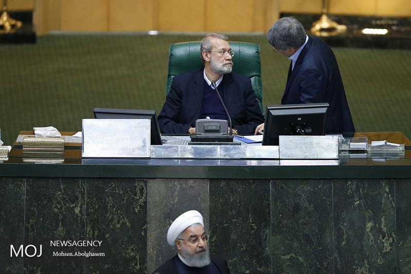 مجلس با رای گیری علنی درباره پاسخ های رییس جمهور مخالفت کرد